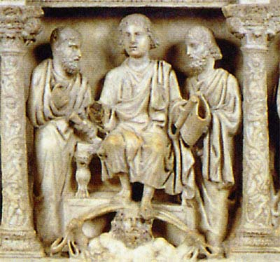 4 cent. Sarcophagus of Junius Bassus, Rome