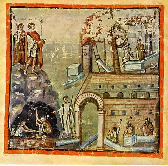 5th cent mss of Virgil