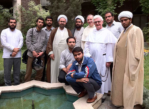 Students from Qom with Pat and Paul